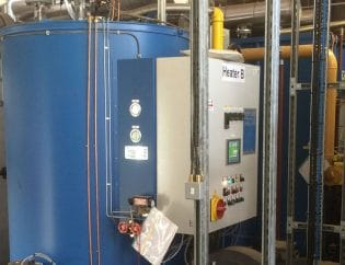 Stolthaven boiler