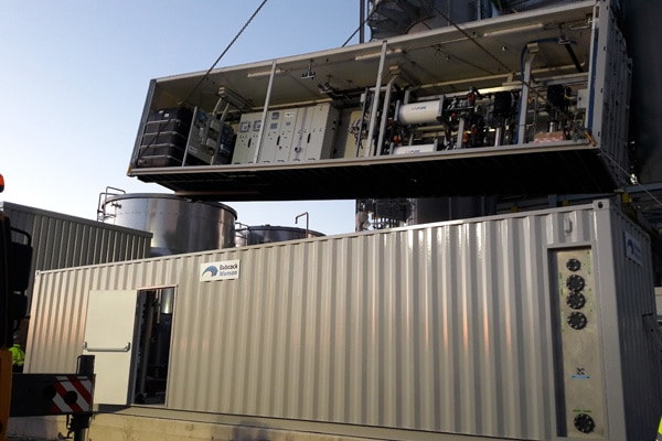 Portable Contanerised Boiler Houses