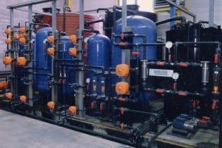 Demineralizzazione mediante resine