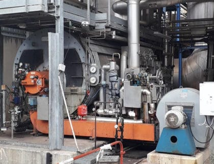 Steam Boiler Service et Maintenance at EDF VAZZIO Corsica
